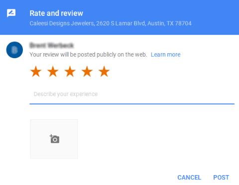 Buzzworthy reputation management service screen shot