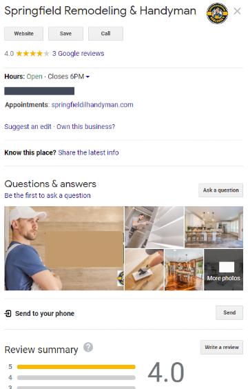 Buzzworthy local search engine optimization screen shot