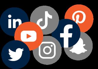 Buzzworthy social media marketing graphic