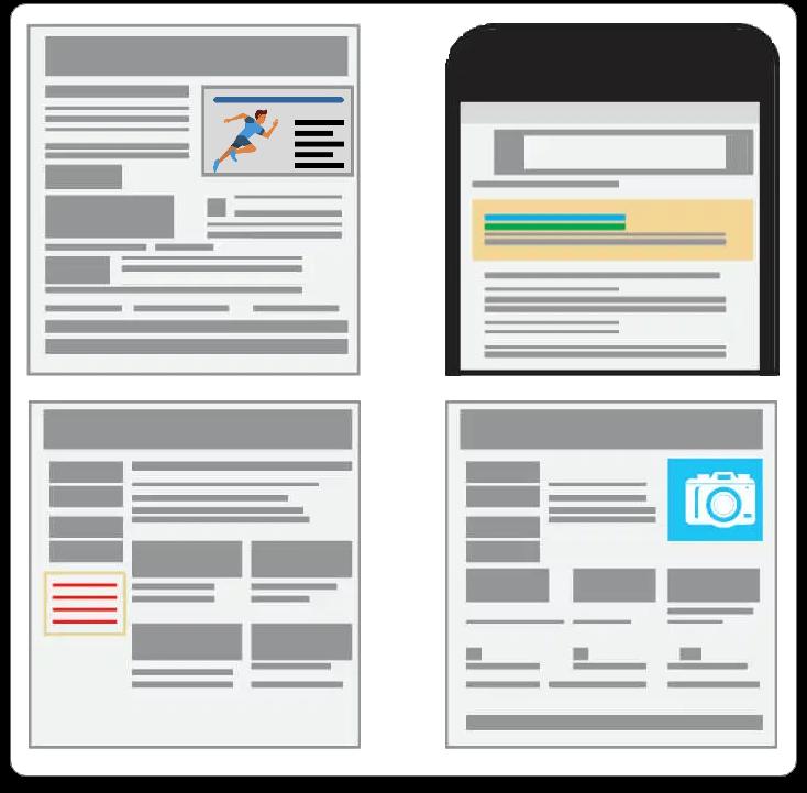 Buzzworthy Search Engine Marketing graphic- Google Display Ads website blocks