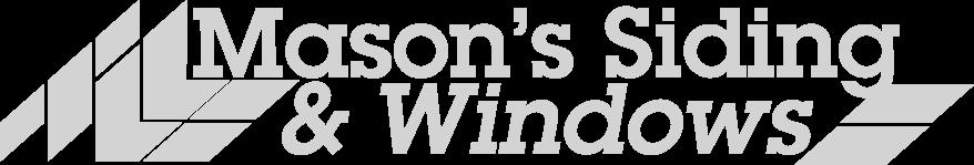 Mason's Siding logo