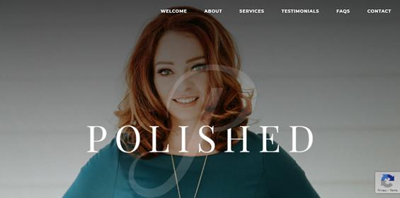 Buzzworthy website design portfolio screen shot